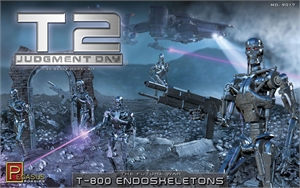 1/12 Terminator 2 Judgement Day T800 Endoskeletons-model-kits-Hobbycorner