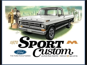 1/25 1972 Ford Sport Custom Pickup-model-kits-Hobbycorner