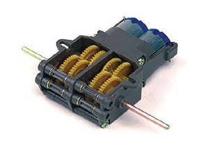 Twin Motor Gearbox - 70097-electric-motors-and-components-Hobbycorner
