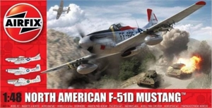 1/48 North American F-51D Mustang-model-kits-Hobbycorner