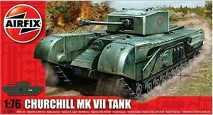 1/76 Churchill Mk.VII Tank-model-kits-Hobbycorner