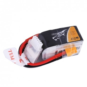 Tattu 14.8V 75C 4S1P 450mAh Lipo with XT30 Plug-batteries,-chargers-and-testers-Hobbycorner