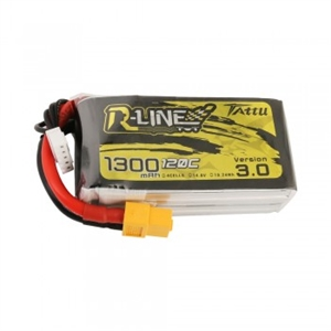 R-Line Version 3.0 1300mAh 14.8V 120C Lipo with XT60 Plug-batteries,-chargers-and-testers-Hobbycorner