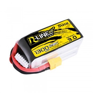 R-Line 3.0 1300mAh 22.2V 6S1P 120C Lipo with XT60 Plug-batteries,-chargers-and-testers-Hobbycorner
