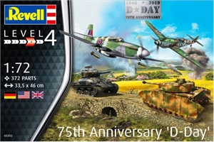 1/72 - 75th D-DAY Anniversary D-Day Gift Set -model-kits-Hobbycorner