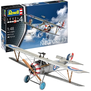 1/48 Niewport 17 Aircraft Model Kit-model-kits-Hobbycorner