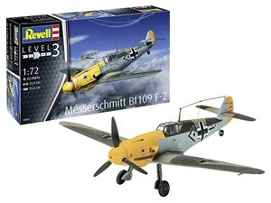 1/72 Messerschmitt BF 109 F-2 Model Kit-model-kits-Hobbycorner
