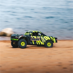 1/7 MOJAVE 6S BLX 4WD Desert Racer with Spektrum RTR, Green/Black - 106058T1-radio-controlled-cars-and-trucks-Hobbycorner