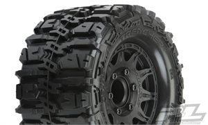 "Trencher HP 2.8"" All Terrain BELTED Truck Tires Mounted - 10168-10-tires-and-rims-Hobbycorner"