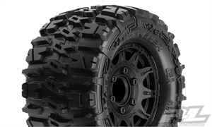 "Trencher 2.8"" All Terrain Tires Mounted - 1170-10-tires-and-rims-Hobbycorner"