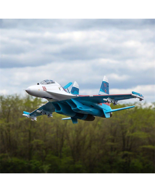 Su-30 Twin 70mm EDF BNF Basic w/AS3X & SAFE Select - EFL01050