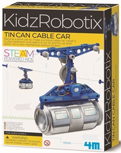 4M Science - Tin Can Cable Car - 103358-model-kits-Hobbycorner