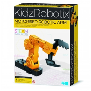 4M KidzRobotix - Motorised Robotic Arm - 103413-model-kits-Hobbycorner