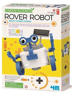 4M Science - Rover Robot - 103417-model-kits-Hobbycorner