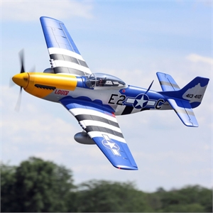 P-51D Mustang 1.5m BNF Basic with Smart - EFL01250-radio-controlled-planes-and-gliders-Hobbycorner