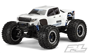 Pre-Cut Brute Bash Armor Body (White) for X-MAXX - 3513-17-radio-controlled-cars-and-trucks-Hobbycorner