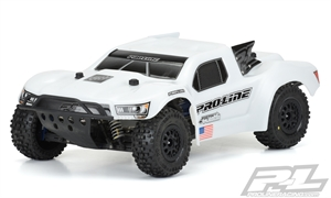 Pre-Cut Flo-Tek Fusion Bash Armor Body (White) for PRO-Fusion SC 4x4, Slash 2wd, Slash 4x4, SC6.1, 22SCT, & SCTE - 3458-15-radio-controlled-cars-and-trucks-Hobbycorner