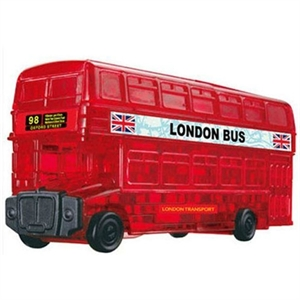 Crystal Puzzle London Bus (53Pc)-model-kits-Hobbycorner