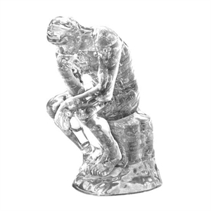 Crystal Puzzle The Thinker (43 pcs)-model-kits-Hobbycorner
