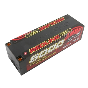 Redline 6000mAh 4SHV 15.2v 130C Low Profile Hard Case-batteries,-chargers-and-testers-Hobbycorner