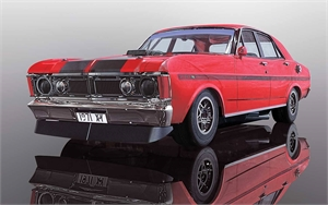 Ford Falcon 1970 DPR - Candy Apple Red - C3937-slot-cars-Hobbycorner