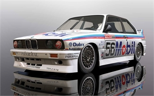 BMW E30 M3 - Bathurst 1000 1988 Peter Brock - SCA C3929-slot-cars-Hobbycorner