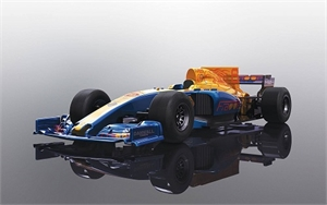 DPR Blue Wings F1 Car - C3960-slot-cars-Hobbycorner