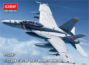1/72 USN F/A-18F VFA-2 Bounty Hunters - 12567-model-kits-Hobbycorner