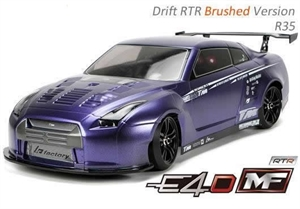 E4D-MF - R35 - 1/10 Electric 4WD Drift Car - RTR - 503017-R35-rc---cars-and-trucks-Hobbycorner