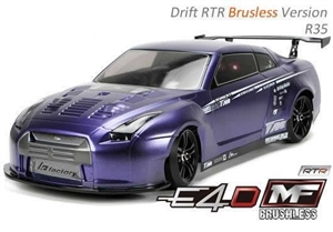 1/10 E4D-MF - R35 Brushless 4WD Drift Car - RTR - 503018-R35-rc---cars-and-trucks-Hobbycorner