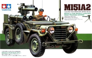 1/35 U.S. M151A2 w/ TOW Missile Launcher (M220 Tracking System) - 35125-model-kits-Hobbycorner