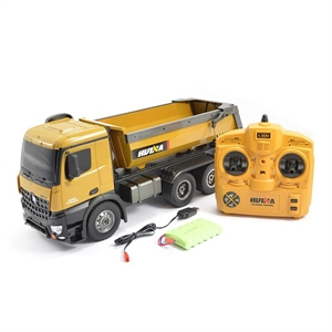 1/14 RC Die-cast Dump Truck - 1573-radio-control-construction-vehicles-Hobbycorner