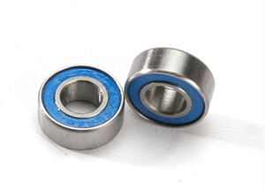 Ball bearings, blue rubber sealed (6x13x5mm) (2) - 5180-radio-controlled-cars-and-trucks-Hobbycorner