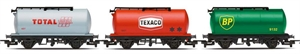 Petrol Tankers, three pack, Various - Era 6 - R6891-trains-Hobbycorner
