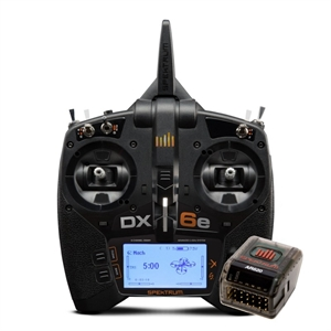 DX6e 6-Channel DSMX Transmitter with AR620 Rx - SPM6655-radio-gear-Hobbycorner