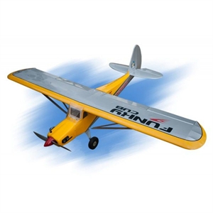 Funky Cub - 10-15cc, 180cm Wingspan - Yellow - SEA254Y-rc-gliders-and-planes-Hobbycorner