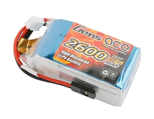2600mAh 2S 7.4v Hump RX Pack-batteries,-chargers-and-testers-Hobbycorner