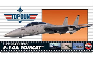 1/72 Top Gun Maverick's F-14A Tomcat - A00503-model-kits-Hobbycorner