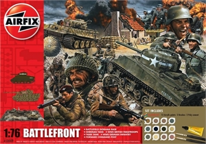 1/76 D-Day Battlefront Gift Set - A50009A-model-kits-Hobbycorner
