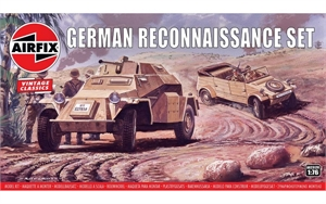 1/76 German Reconnaissance Set - A02312V-model-kits-Hobbycorner