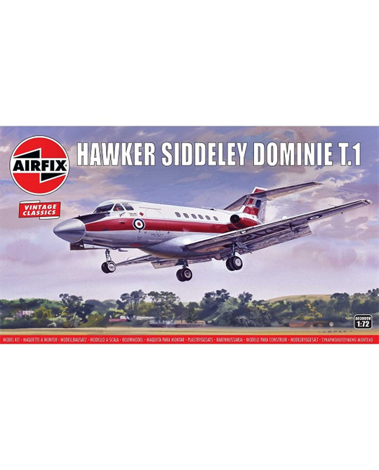 1/72 Hawker Siddley Dominie T.1 - A03009V