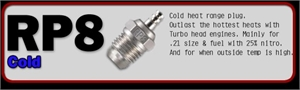 NO.P8 TURBO PLUG CAR (COLDEST) -  71641800 -  71641800-engines-and-accessories-Hobbycorner