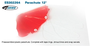 Replacement 12 inch Parachute -  ES302264-rockets-Hobbycorner