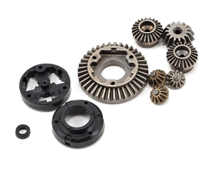 F/R Diff Gear, Housing and Spacer Set: KEM, KAL -  VTR212003-radio-controlled-cars-and-trucks-Hobbycorner