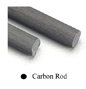 CARBON FIBRE ROD .125(3.0MM) 1PC -  7.5803-building-materials-Hobbycorner