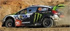 1/24 Fiesta RS WRC (Ken Block Decals & Gravel Transkit) Mexico 2012  -  BEL 003- KB12