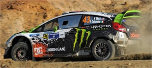 1/24 Fiesta RS WRC (Ken Block Decals & Gravel Transkit) Mexico 2012  -  BEL 003- KB12-model-kits-Hobbycorner