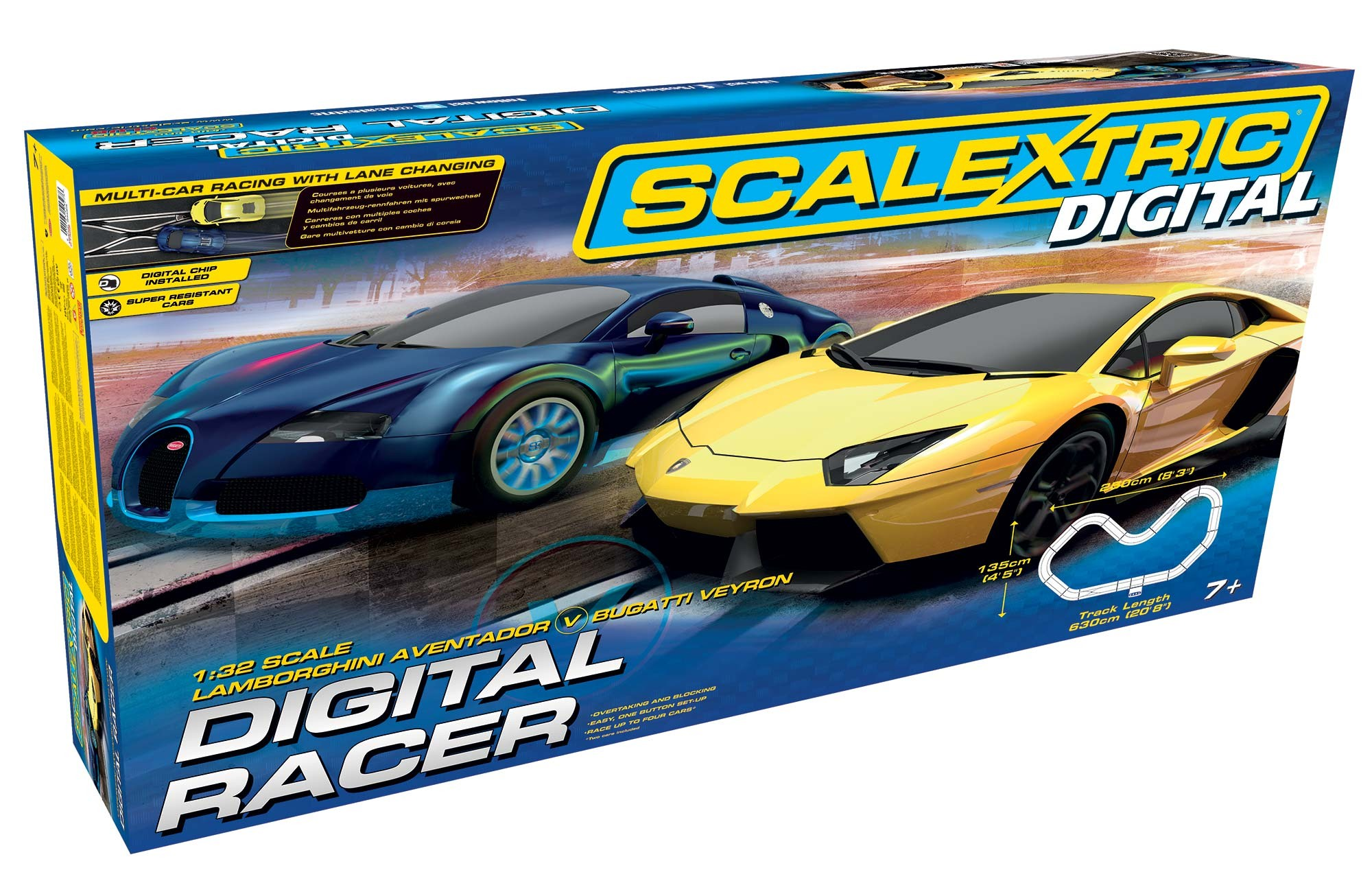 D Set Digital Racer - SCA C1327