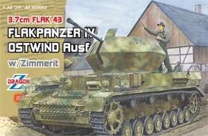 1:35 FLAKPANZER OSTWIND WITH ZIMMERIT -  DR6746-model-kits-Hobbycorner