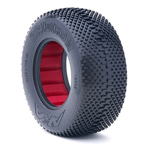 1:10 Gridiron SC Super Soft With Red Insert -  13003VR-tires-and-rims-Hobbycorner